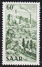 Buy GERMANY Saar [1949] MiNr 0287 ( */mh )
