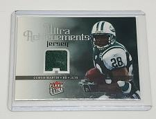 Buy NFL CURTIS MARTIN NEW YORK JETS 2006 FLEER ULTRA ACHIEVEMENTS GAME JERSEY MINT