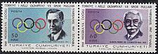 Buy TÜRKEI TURKEY [1967] MiNr 2061+62 ( **/mnh ) Olympiade