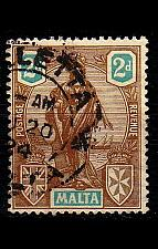 Buy MALTA [1922] MiNr 0087 ( O/used )