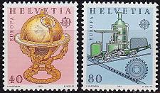 Buy SCHWEIZ SWITZERLAND [1983] MiNr 1249-50 ( **/mnh ) CEPT