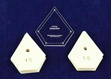 """Buy Mylar 1.5"""" Starpoint -51 Piece Set - Quilting / Sewing Templates"""