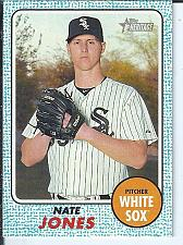 Buy Nate Jones 2017 Topps Heritage Blue Parallel