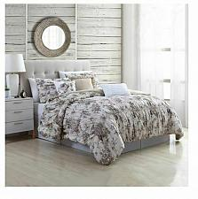 Buy Queen 6 Piece Cottage Style Bounty Floral Textured Comforter Set Pillows Shams