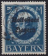 Buy GERMANY Bayern Bavaria [1919] MiNr 0131 II A ( O/used ) [01]