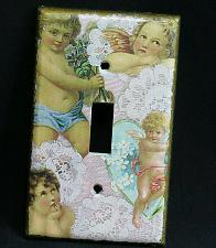 Buy Leviton Art Reproduction Cherubs Single Toggle Switch Cover Plate