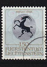 Buy LIECHTENSTEIN [1969] MiNr 0516 ( O/used ) Wappen