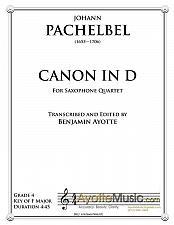 Buy Pachelbel - Canon in D (Saxophone Quartet)