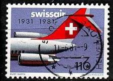 Buy SCHWEIZ SWITZERLAND [1981] MiNr 1195 ( O/used ) Flugzeuge