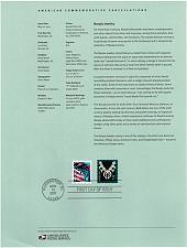 Buy US #SP1477 (3753) Navajo Necklace Souvenir Page (5Stars) |USASP1477-01