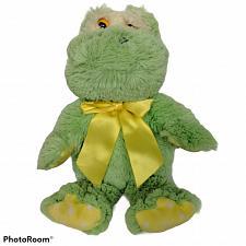 "Buy Animal Adventure Green Frog Amphibian Stuffed Animal 2009 13.5"""