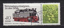 Buy GERMANY DDR [1984] MiNr 2864 WZd582 ( OO/used ) Eisenbahn