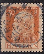 Buy GERMANY Bayern Bavaria [1911] MiNr 0081 I ( O/used )