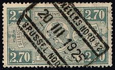 Buy Belgium #Q159 Parcel Post & Railway; Used (1.40) (3Stars) |BELQ159-01XBC