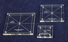"""Buy Square Quilt Templates. 1/8"""" 1"""", 2"""", 2.5"""" - Clear"""