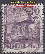 Buy GERMANY Alliiert Franz. Zone [RheinlPfalz] MiNr 0022 y II ( O/used ) [01]