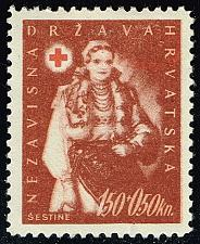 Buy Croatia #B20 Sestine Peasant; Unused No Gum (0Stars) |CROB020-01XVA