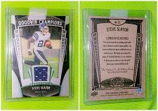 Buy Nfl Steve slaton Houston Texans 2015 Goodwin Champions Game-worn Jersey Mint