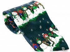 Buy Yule Tie Greeting Men's Dress Necktie 100% Polyester Christmas Snowman Novelty