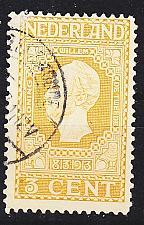 Buy NIEDERLANDE NETHERLANDS [1913] MiNr 0082 A ( O/used )