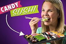 Buy SEALED Gummy Candy Sushi Bento Box, Gummies Treats Marshmallow Licorice 26 PCS