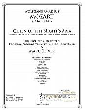 Buy Mozart - Queen of the Night Aria for Solo piccolo trumpet and band