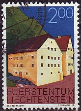 Buy LIECHTENSTEIN [1978] MiNr 0705 ( O/used ) Architektur