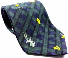 Buy Looney Tunes Bugs Bunny Daffy Tweety Taz Criss Cross Men's Necktie Novelty