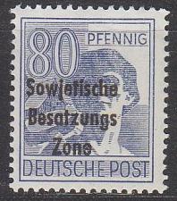 Buy GERMANY Alliiert SBZ [Allgemein] MiNr 0196 ( **/mnh )