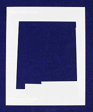 """Buy State of New Mexico Stencil 14 Mil 8"""" X 10"""" Painting /Crafts/ Templates"""