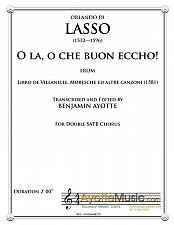 Buy Lasso - O la, o che buon eccho!
