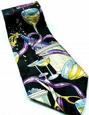 Buy Celebration Champagne Wine Drinking Fine Dining Ice Buckets Silk Tie