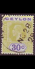 Buy CEYLON SRI LANKA [1921] MiNr 0199 ( O/used )