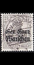 Buy GERMANY REICH Besetzung [Polen] MiNr 0006 a ( O/used ) [02]