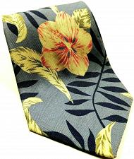 Buy Tommy Bahama Hawaiian Floral Tropical Palm Leaves Novelty Silk Tie