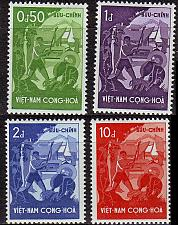 Buy VIETNAM SÜD SOUTH [1958] MiNr 0151-54 ( **/mnh )