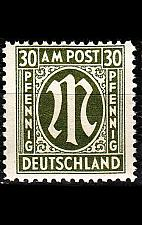 Buy GERMANY Alliiert AmBri [1945] MiNr 0029 c A ( **/mnh )