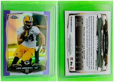 Buy NFL JARED ABBREDERIS PACKERS 2014 TOPPS CHROME PURPLE REFRACTOR RC #130 MNT
