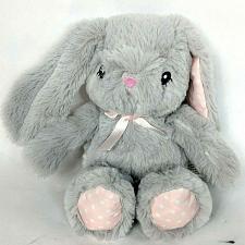 "Buy Toys R Us Baby So Sweet Gray Easter Bunny Rabbit Plush Stuffed Animal 2015 8"""