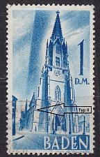 Buy GERMANY Alliiert Franz. Zone [Baden] MiNr 0027 y II ( O/used )