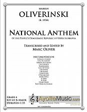 Buy Oliver - National Anthem of the Peoples' Republic of Upper Slobbovia