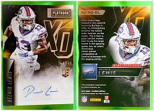 Buy NFL Desmond Lewis Buffalo Bills Autographed 2015 Panini Playbook Rc 199 Mint
