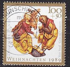 Buy GERMANY BUND [1989] MiNr 1443 ( O/used ) Weihnachten