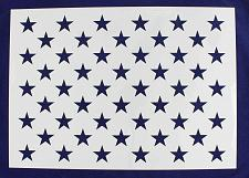"Buy 50 Star Field Stencil 14 Mil -G-Spec 22"" - Painting /Crafts/ Templates"
