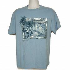 Buy Half Moon Cay Carnival Cruise T-Shirt Lg Short Sleeve Bahamas Tropical Paradise