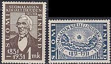Buy FINLAND SOUMI [1931] MiNr 0162-63 ( */mh )
