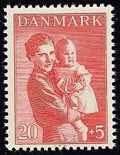 Buy Denmark #B13 Princesses Ingrid and Margrethe; MNH (3Stars)  DENB013-06