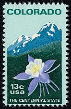 Buy US #1711 Colorado Statehood; MNH (0.25) (2Stars) |USA1711-07
