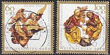 Buy GERMANY BUND [1989] MiNr 1442-43 ( O/used ) Weihnachten