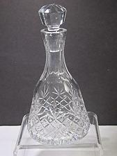 Buy Signed Lenox Cut glass Charleston Crystal decanter Made in USA